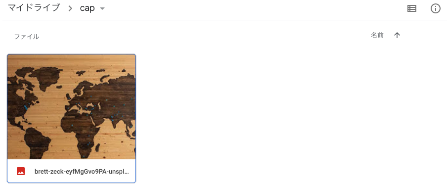 Googleスクレイピング 実行結果